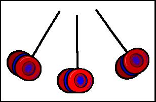 Newtonian mechanics particle newtonian mechanics draw a free body diagram of the yo yo when it is at the bottom of its motion ccuart Gallery